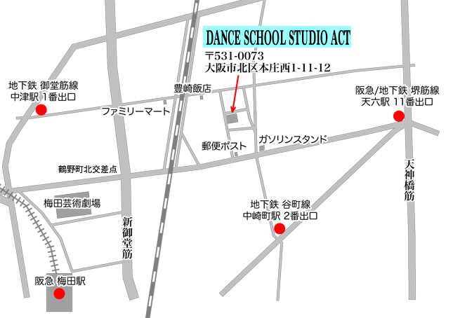 dancestudioactmap